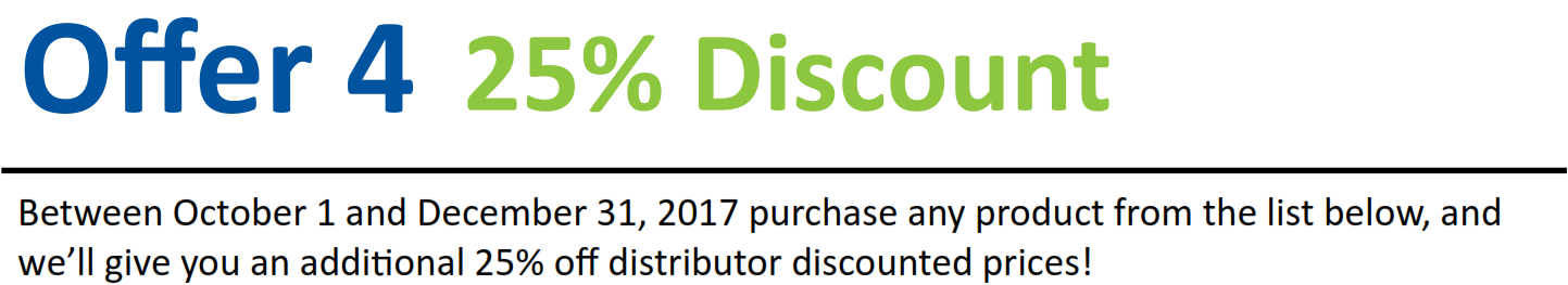 Offer 4 25% Discount