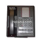 6414-BB COMDIAL 8 LINE MONITOR TELEPHONE BLACK REFURBISHED