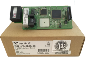 VS-5035-00 Summit T1/PRI Interface Board